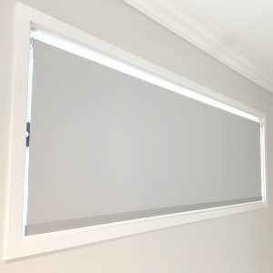 Graceville Brisbane Mist Blockout Roller Blinds