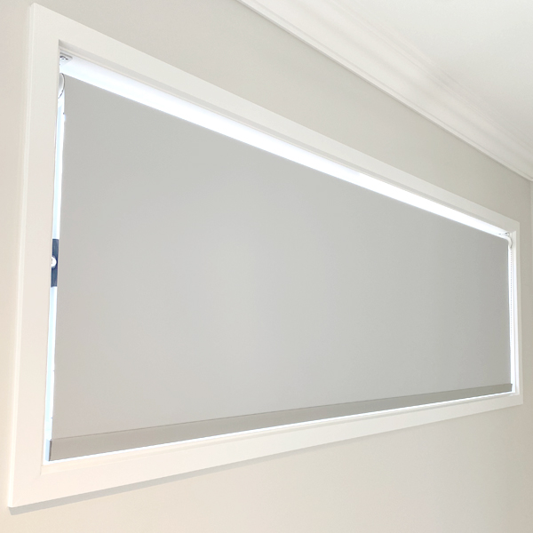 Graceville Mist Blockout Roller Blind