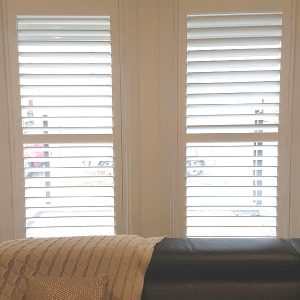 Lavish White Plantation Shutters