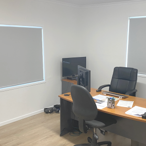 Narangba Mist Blockout Roller Blinds