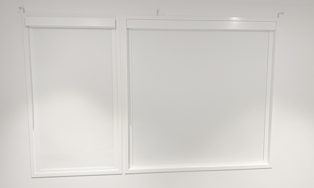 Wavell Heights White Cassette Roller Blinds